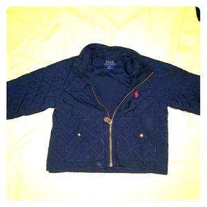 Polo Ralph Lauren 24 months barn coat jacket navy
